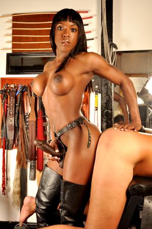 Think, black mistress kiana strapon